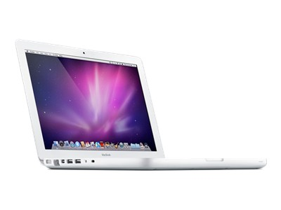 "Refurbished White Apple MacBook - 13.3"" - Core 2 Duo 2.4 GHz - 2 GB ..."